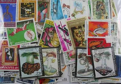 Bulgaria. 500 stamps. All different. (10)