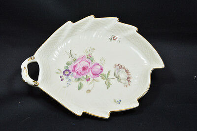 Royal Copenhagen Frijsenborg Leaf Shaped Pickle Dish