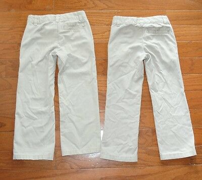2 Pairs Of Uniform Pants By George Size 4