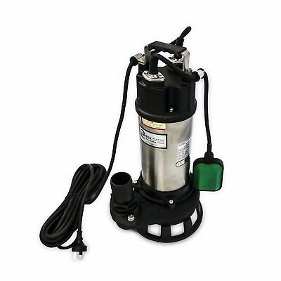 Dirty Water High Flow Submersible Sewage Pump with Float Switch