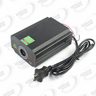 Fat Beam 532nm Green 200mw Laser Module Diode Dot Collimating Radiation Fan TTL