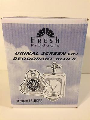 Lot 12 Fresh Products  Urinal Screen  W/ Deodorant Block  Air Freshner New