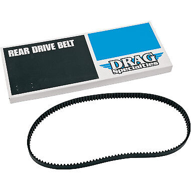 Drag Specialties Drive Belt Rear 1 Inch 133 Tooth for Harley-Davidson 2007-2011