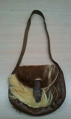 vintage cowboy country western rodheo leather purse