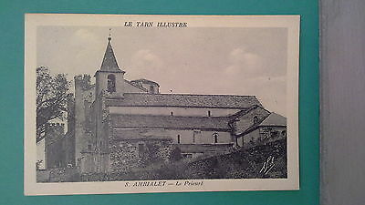 Cpa 39  Tarn  Ambialet  Le Prieure