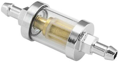 Bikers Choice Clear-View Fuel Filter For 5/16 Hoses For Harley