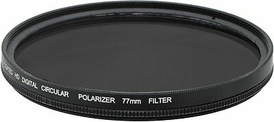 CPL 77mm Multi-Coated HD Circular Polarizer Filter for Canon 70-200mm IS Lens