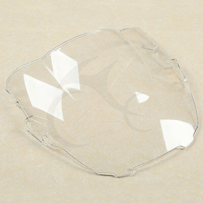 Clear Double Bubble Windshield Windscreen For Honda CBR600F3 1995-1998 1996 1997
