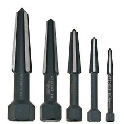 Knipex 9R4719003 Rennsteig 5-Piece Double Edge Screw Extractor Set