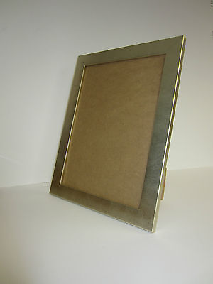 b2431e8fb03 A4 Certificate Champagne Silver effect Photo Picture Frame Free standing