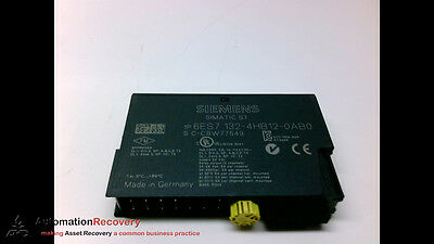 Siemens 6Es7 132-4Hb12-0Ab0 Relay Output Module Simatic Et 200S, New* #110336