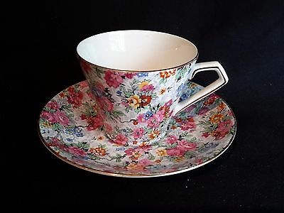 Lord Nelson Ware Marina Chintz Cup and Saucer