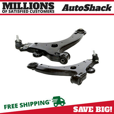 2 Front Lower Control Arm With Ball Joints For Left & Right Side Pair Kit Set