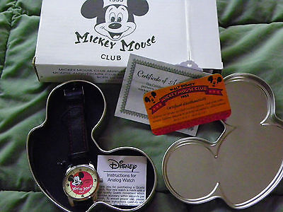 Vintage Mickey Mouse 1955 Club Member ~ Super Rare ~ Perfect Condition