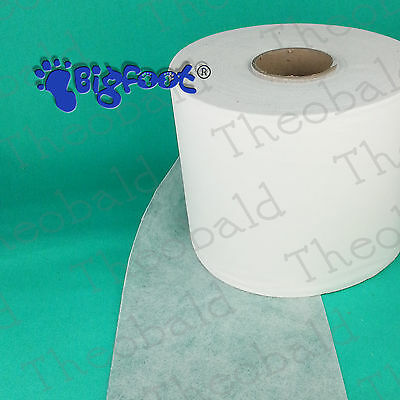 TEAR AWAY EMBROIDERY SOFT BACKING/STABILISER 80GSM HEAVY WEIGHT 12M x 20CM
