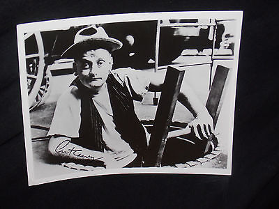 Art Carney Signed 8X10 Photo As Ed Norton From The Honeymooners