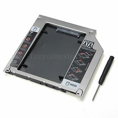 """2ND SATA 2.5"""" HDD SSD Hard Drive Caddy for Apple MacBook Pro Unibody SuperDrive"""