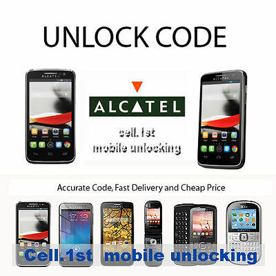 Unlock Code Alcatel One Touch Evolve 3G 5020N  metroPCS