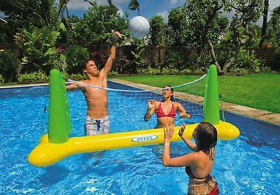 Intex Pool Volleyball Game Inflatalbe Floating Swimming Fun Net & Ball