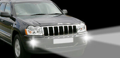 LED Tagfahrlicht + LED Nebelscheinwerfer Jeep Grand Cherokee WH (2005-2008) TFL