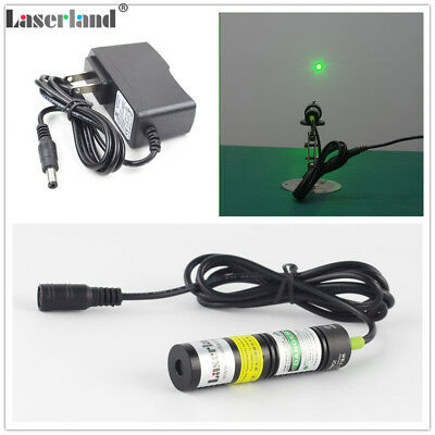 Laserland 1875 30mW-50mW 532nm Green Dot Laser Module Diode Locator 3vdc adapter