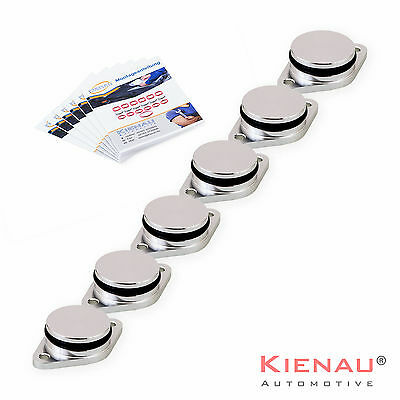 6 X 33mm for BMW Diesel Swirl Flap Blanks 320d 330d 520d 525d 530d 730d 1.9 M57
