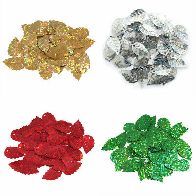 Trimits Sequins Leaf Holographic 2.5g Pack