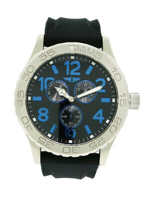 I by Invicta IBI41705-003 Men's Round Analog Day Date Blue Black Watch