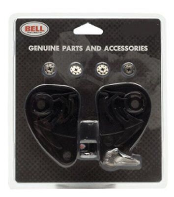 Bell Powersports Replacement Hinge Plate Kit for Mag-9 Open Face Helmet Set