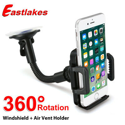 Universal Windshield Mount Car Holder Cradle For GPS iPhone 6S 6 7 Plus Samsung