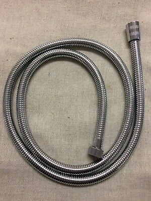 Chrome 1.5 Metre Shower Hose 12Mm Large Bore  Same Ends As Aqualisa 164516