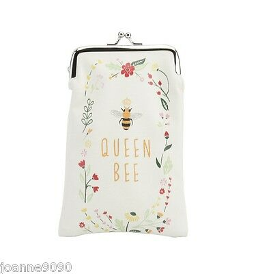 Queen Bee Accessories Floral Gift Specs Spectacles Sunglasses Cover Glasses Case