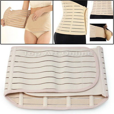 New Invisible Postpartum Recovery Tummy Abdomen Belly Wrap Corset Support Belt