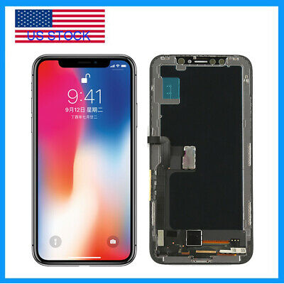OLED For iPhone X 10 Digitizer LCD Display Touch Screen Assembly Replacement USA