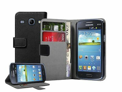 WALLET Leather Flip Case Cover Pouch for Samsung Galaxy Core GT-i8260