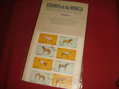STAMPS OF THE WORLDS  Nagaland  Block of 8 Cancelled to Order Royal Wedding 1973