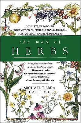 The Way of Herbs by Michael Tierra Paperback Book (English)
