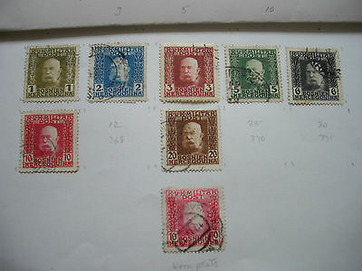 Stamps Bosnia Yugoslavia on stamp album pages