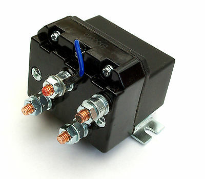 Heavy Duty 12V DC Winch Reversing Solenoid Relay 200A Automotive Switch