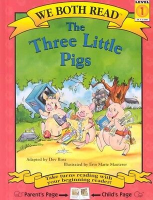 NEW The Three Little Pigs by Dev Ross Hardcover Book (English) Free Shipping