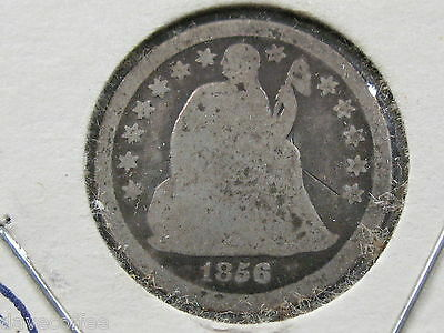 1856 O Seated Liberty Dime--Fair Speciman-- Free Shipping