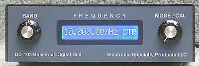 DIGITAL DIAL FT-101, TS-520, TS-820, TR-3, TR-4 WITH CUSTOM CABLE