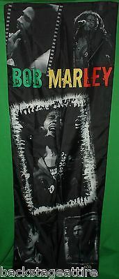 Bob Marley Reggae Collage Door Hanging Cloth Fabric Poster Flag Tapestry-New!!!!