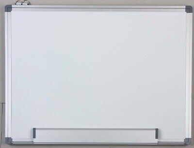 900X1200Mm Aluminum Frame Magnetic Drywipe Whiteboard,w/pen,eraser M-Button E0