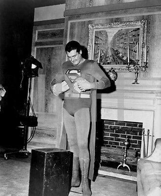 8x10 Print George Reeves Superman 1952 #501