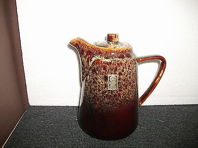 fosters pottery honeycomb coffee / water pot