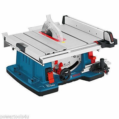 "Bosch GTS10XC 10"" Table Saw with Sliding Carriage 240V 0601B30470"