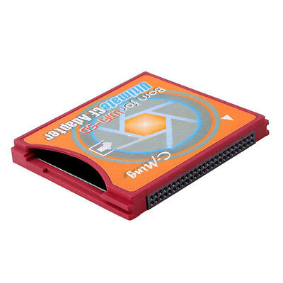 New Extreme Compact Flash Card Adapter SD SDHC SDXC WIFI Eye-fi SD to Type II CF