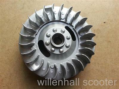 Lambretta Short Finned Light Weight Flywheel For 12V Elctronic Ignition Gp Dl