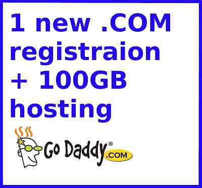 One new .NET domain registration + FREE hosting with 100 GB space #G0